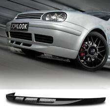 Frontspoiler Lippe schwarz für Stoßstange VW Golf 4 Ansatzlippe Spoiler Schwert