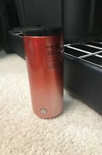 Starbucks Holiday 2019 Red Pink Ombre Stainless Steel Tumbler 12 oz
