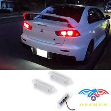 For Mitsubishi Lancer X EVO Error Free LED Number License Plate light Lamp 03-17