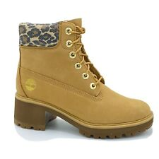 "Timberland New Ladies 6""  Kinsley Heel Tan Memory Foam Boots RRP £145 Size 5 UK"