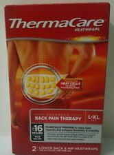 ThermaCare Heatwraps, Lower Back/Hip, L-XL, exp. 7/22