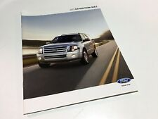2012 Ford Expedition Max XLT Limited Brochure