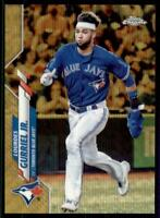2020 Topps Chrome Base Gold Wave Refractor #167 Lourdes Gurriel Jr. /50