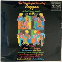 THE WONDERFUL WORLD OF REGGAE LP MFP UK NEAR MINT PRO CLEANED