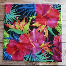 Tropical Hibiscus  Outdoor Cushion / Pillow Cover ~ 45cm x 45cm ~ New ~ MBC