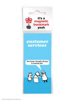 Modern Toss Gifts Funny RUDE Hilarious Magnetic Bookmark Novelty Humour Cheap