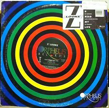 "Z' Looke - Can You Read My Lips 12"" Mint- V-72655 Vinyl 1988 Z'looke"