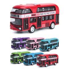 1:43 Car Model Double-decker Bus London Alloy Diecast Vehicle Toys For Kids Boys