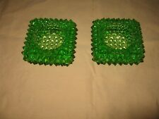 Green Hobnail Style Votive Candle Holder