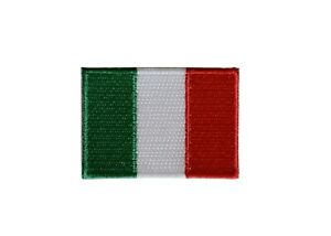 """#5136 Italy Flag Embroidery Iron On Patch-Small 1 3/4"""""""