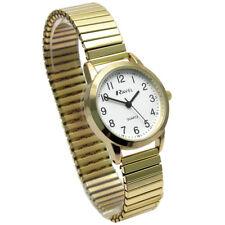 Ravel Ladies Super-Clear Quartz Watch Expanding Bracelet gold #46 R0232.22.2