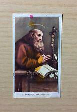SANTINI - IMMAGINE DI S. LORENZO DA BRINDISI - ORIGINAL HOLY PICTURE