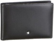MONTBLANC Chef-d' œuvre Portefeuille/Wallet 4cc ID Card Coin Case Black, 6179, NEUF