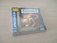 >> FAHRENHEIT SEGA MEGA CD JAPAN IMPORT NEW FACTORY SEALED! <<