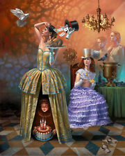 HD Canvas Print home decor wall art painting,Michael Cheval16×20inch/unframed 16