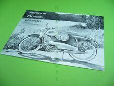 406KA2 Prospekt, Brochure: SOLIFER verken EXPORT Moped, Helsinki Finnland, 1960