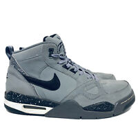 Nike Air Flight 2013 Mid Top Court Shoes Wolf Gray Athletic 579961-003 Size US 9