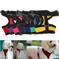 Pet Control Harness for Dog Puppy Cat Soft Walk Collar Safety Strap Mesh Vest GB