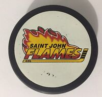 *Saint John Flames* Calgary AHL Minor League Lindsay Hockey Puck 95-98 Slovakia