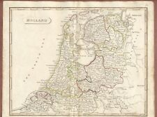 Holland Map 1809  by Cadell & Davies London,  Longman Hurst Rees & Orme    JX518