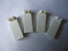 LEGO PART 4531 WHITE HINGE TILE WITH 2 FINGERS ON TOP