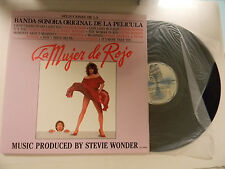 Stevie Wonder (import Lp) LA MUJER de ROJO ~ Motown Spain M- to VG++