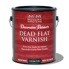 Modern Masters Interior Dead Flat Varnish Gallon DP609