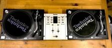 Technics Turntable SL-1200MK5 × 2 units + Mixer SH-DJ1200 DJ set