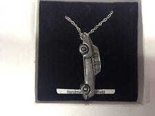 "ROLLS Royce Cloud 2 ref212 CAR Emblem sulla collana placcato argento platino 18"""