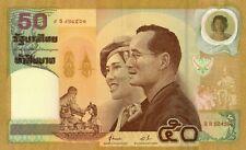 Thailand Commemorative Banknote with Folder  UNC King Wedding 2000 50 bath