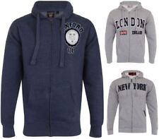Mens Hoodie Casual Jacket hooded Sweatshirt Genuine London Oxford New York