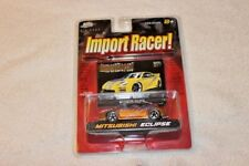 Jada Toys Import Racer! 1:64 2003 Mitsubishi Eclipse SST 3G HKS ShineStreet RARE
