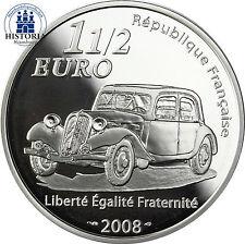 Frankreich 1,5 Euro 2008 PP Französische Industrieunternehmer: André Citreon