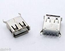 Connecteur à souder USB type A femelle - Female USB type A solder connector