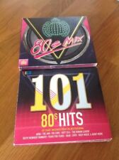 Ministry of Sound 80s Mix (4 x CD) & 101 80's Hits (5 x CD)