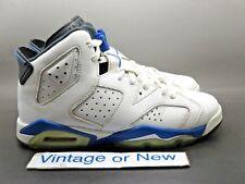 Nike Air Jordan VI 6 Sport Blue Retro BG 2014 sz 6Y