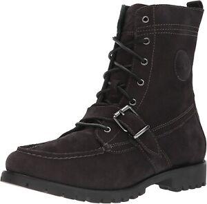 Polo Ralph Lauren Men's Ranger Fashion Boot (Charcoal, SZ 9.5 D US) 812669667003