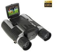 """BINOCOLO CON FOTOCAMERA VIDEOCAMERA DIGITALE HD 1080 12x DISPLAY 2"""" FS608"""