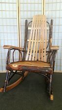 Amish USA Porch Rocker handcrafted oak and hickory / adult sized