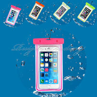 Waterproof Underwater Pouch Dry Bag Case Touchscreen Cover For iPhone Samsung