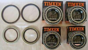2 set JAGUAR XJS 76 to 93 Timken rear wheel bearing kit JLM9732  INBOARD