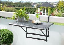 Rechteckige Gartentische aus Stahl