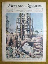 La Domenica del Corriere 22 ottobre 1933 Roma - San Francesco - T. Oldofredi