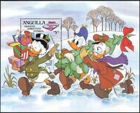 Anguilla 1983 Christmas/Greetings/Disney/Donald Duck/Cartoons 1v m/s (b1480c)