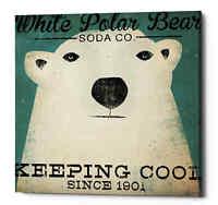 Epic Graffiti 'Polar Bear Soda Co' by Ryan Fowler, Giclee Canvas Wall Art