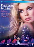BELIEVE: LIVE FROM THE O 2 (DVD) - JENKINS,KATHERINE   DVD NEW+
