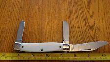 Vintage COLONIAL PROV. U.S.A. 3 Blade Folding Pocket Knife VG! LOOK