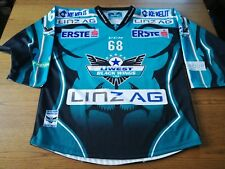 Trikot BLACK WINGS LINZ - 68 WOLLERT - Saison 2016/2017 - Größe L - TOP
