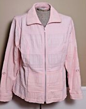 Christopher & Banks Women's Spring Coat Pastel Pink Size XL EXCELLENT
