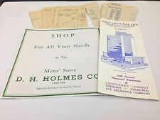 PICK 1 OR MORE 67- VINTAGE OLD 1950-60'S NEW ORLEANS AD RECEIPT PAPER LOT (#1)
